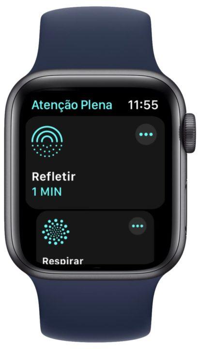 Imagem Apple Watch com watchOS 8
