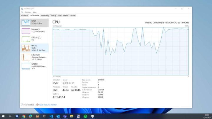 Windows 10 Microsoft KB5003690 atualização desempenho
