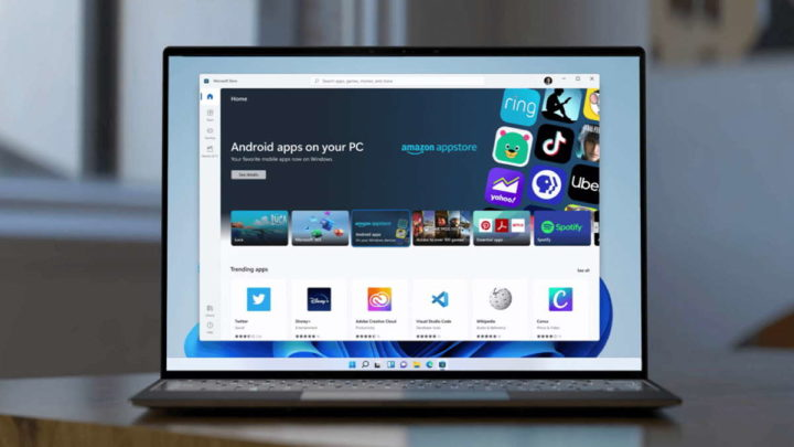 Windows 11 loja Microsoft aplicações