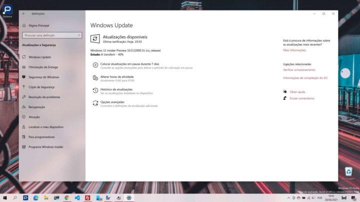 Windows 11 Microsoft Insiders atualização novidades