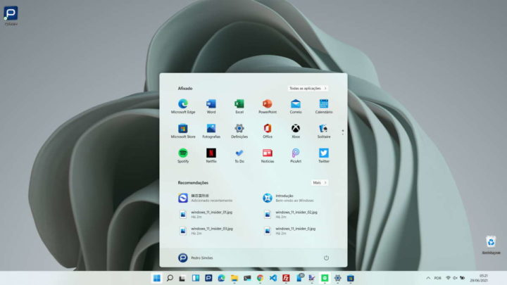Windows 11 Microsoft testar sistema Insiders