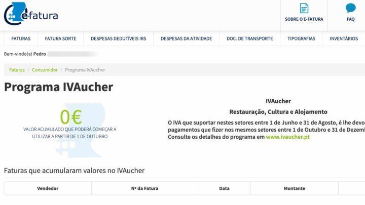 IVAucher: Veja já o saldo acumulado relativo a  junho