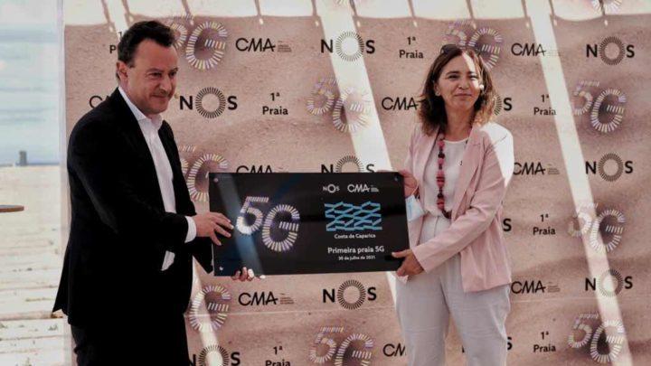 Portugal já tem uma praia com 5G! Saiba onde é