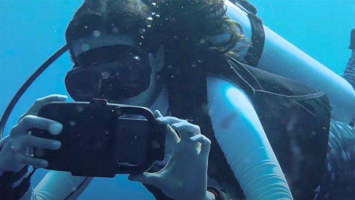 Samsung Galaxy S21 Ultra se sumerge en las Maldivas y toma hermosas fotos [vídeo]