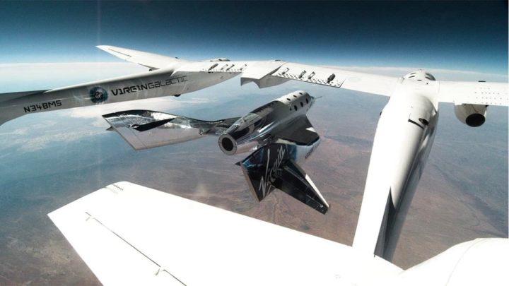 Imagem SpaceShipTwo (SS2)
