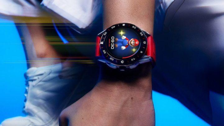 TAG Heuer lança edição limitada de smartwatch com Wear OS do Super Mario