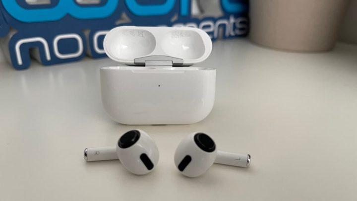 Ilustração AirPods 3 da Apple