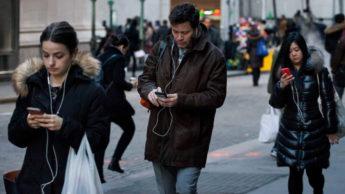 Android smartphone Google Digital Wellbeing andar