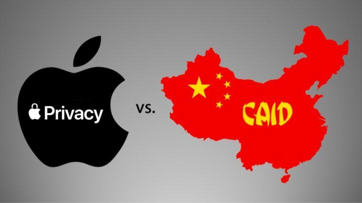 Imagem App Tracking Transparency versus CAID