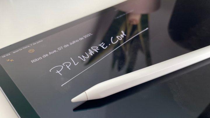 Imagem iPad Pro com Apple Pencil