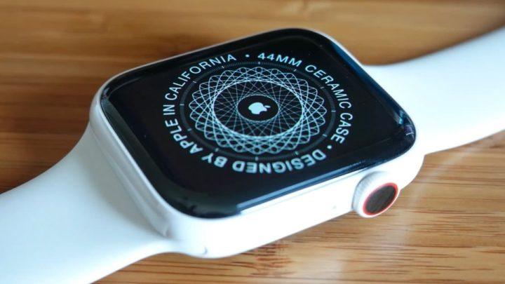 Imagem Apple Watch Series 5 em cerámica