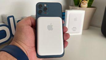 Imagem Apple Battery Pack... a bateria MagSafe