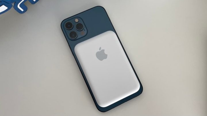 Imagem iPhone 12 Pro com bateria MagSafe