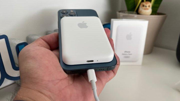 Imagem carregamento reverso iPhone 12 Pro