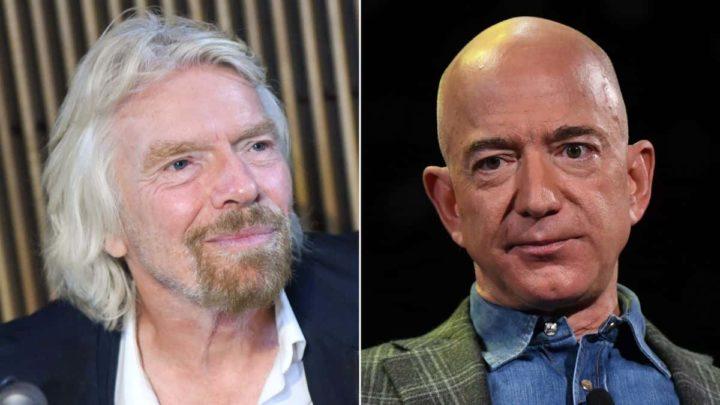 Imagem Branson e Bezos