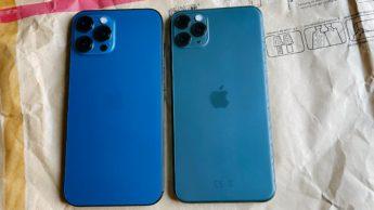 Imagem iphone 11 versis iPhone 12 desvalorização