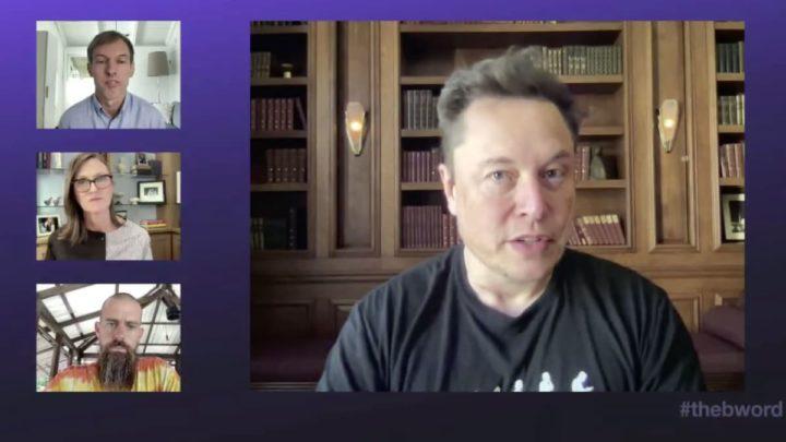 Elon Musk na conferência B-Word
