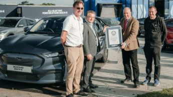 Ford Mustang Mach-E bate recorde de eficiência do Guinness