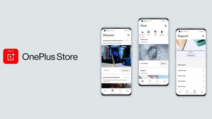Imagem loja da OnePlus travada pelo Projeto Agave