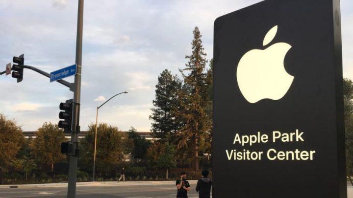 Imagem Apple Parque entrada