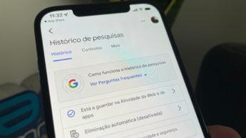 Imagem Google Pesquisas para iOS