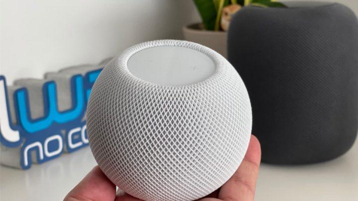 Imagem HomePod mini a coluna inteligente da Apple