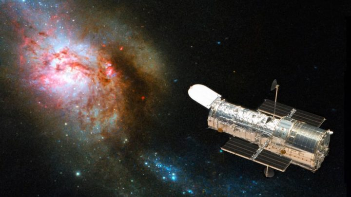Imagem Hubble a mostrar o Universo