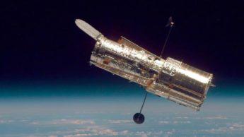 Imagem do ttescópio espacial Hubble