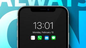 iPhone 13 poderá trazer ecrã com modo Always-on