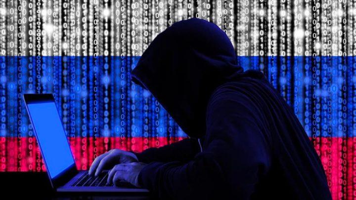 Ilustração hackers da Rússia