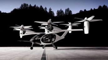 Aeronave elétrica da Joby Aviation