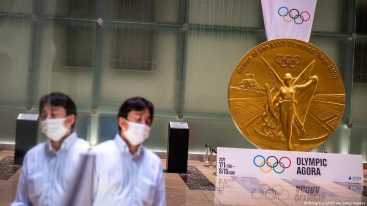 Imagem medalha olímpica Tóquio 2020