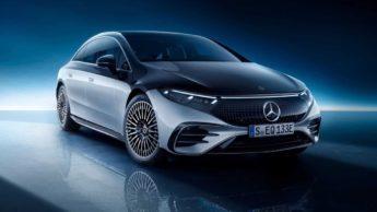 Carro elétrico Mercedes Benz EQS