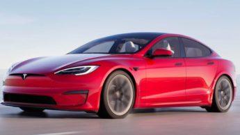Imagem tesla Model S Plaid
