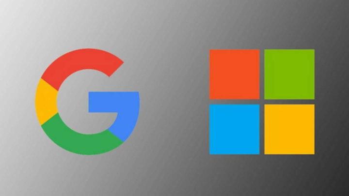 Microsoft Google guerra empresas