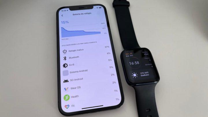 Imagem Oppo Watch e gestão da bateria