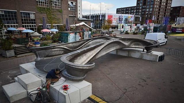 Imagem ponte impressa em 3D