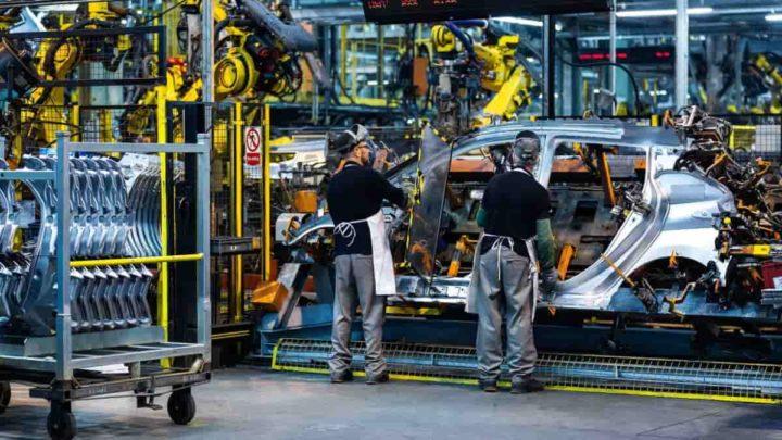 Produção de carros elétricos