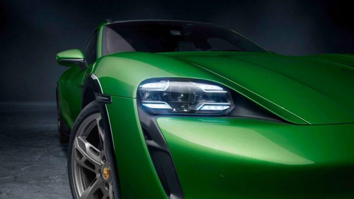 Imagem carro elétrico da Porsche