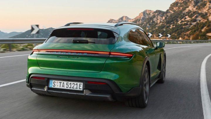Imagem do novo 2021 Porsche Taycan Cross Turismo