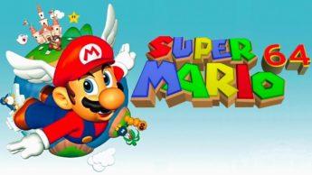Ilustração do jogo Super Mario Bros 64