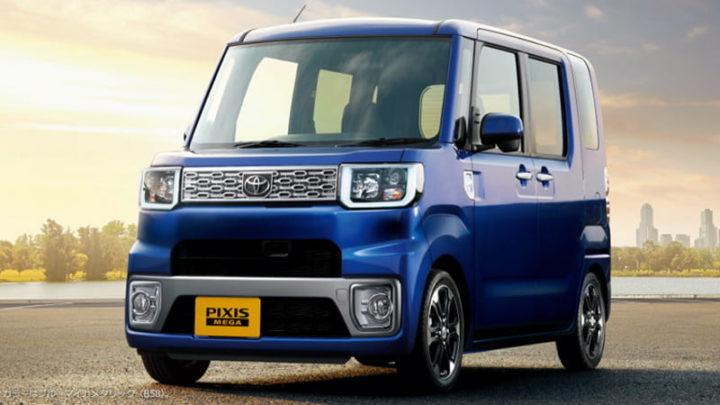 Carro 'kei' da Toyota