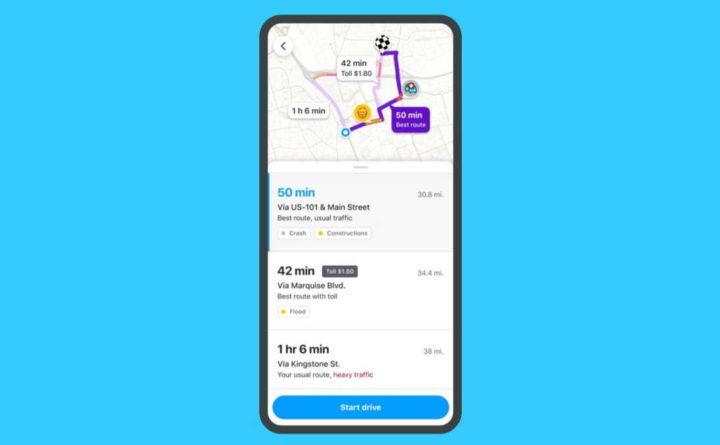 Waze interface condutores viagens trânsito