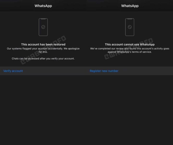 WhatsApp conta validar apps utilizadores