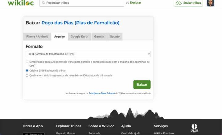 Tutorial: Como passar trilhos do Wikiloc para o Strava?