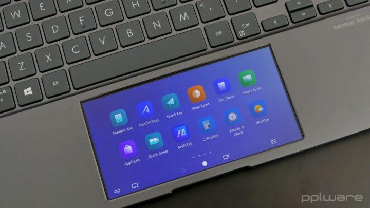 ASUS ZenBook 14 UX435 - ScreenPad oferece mais produtividade?