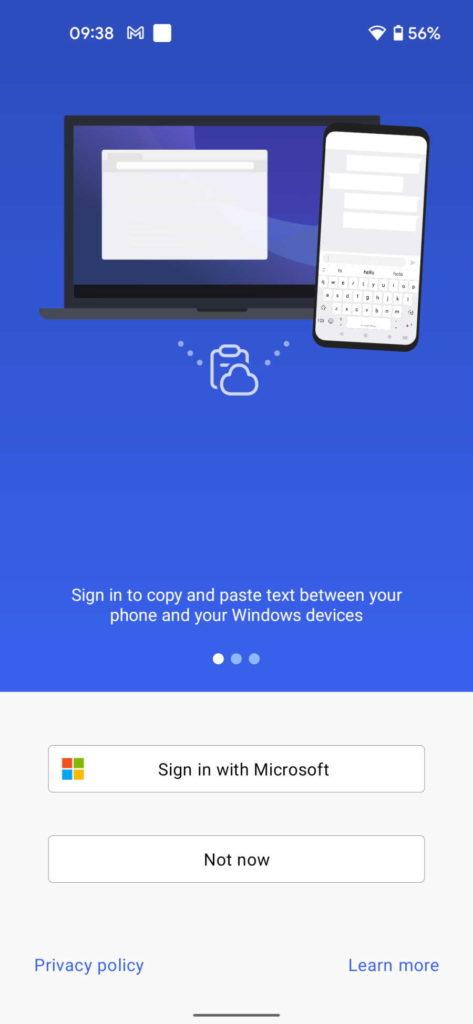 Swiftkey Windows 10 Área Transferência Android