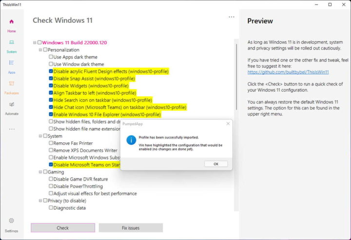 Windows 11 configura Microsoft ThisIsWin11