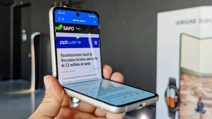 Smartphones dobráveis Samsung Galaxy Z Fold3 Z Flip3