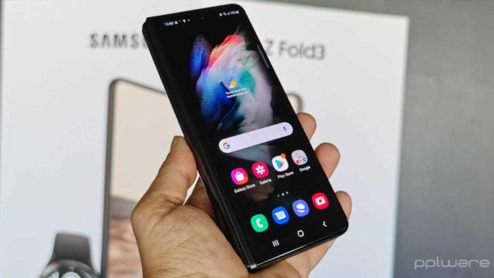 Galaxy Z Fold3 bootloader smartphone câmara